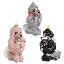 poodle ornaments princess decor