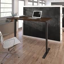 Height Adjustable Desks by Tvilum Prima Adjustable Desk Hayneedle