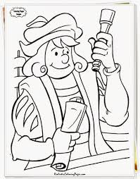 christopher columbus coloring pages nywestierescue com