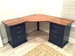 Diy Desk With File Cabinets Delightful Exhilarating Diy Desks 12 Charming Marvelous Metal