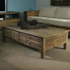 square reclaimed wood coffee table u2013 thelt co