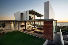 roomy and modern home in cape town south africa the exterior