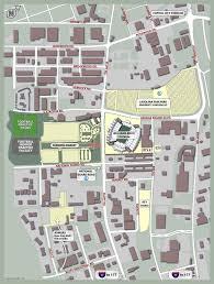 Clemson University Map Parking Gamecocks