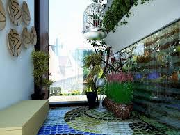 beautiful small balcony terrace flower pots garden design ideas