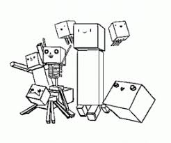 minecraft printable coloring pages kids offering fun