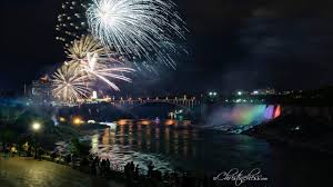 christmas lights in niagara falls ontario festival of lights niagara falls youtube