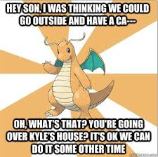 Dragonite Meme - in honor of the revival of old memes i present to you a sad but