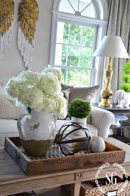 best 25 accent table decor ideas on pinterest entry table i love the idea of putting the coffee table decor on a wooden tray looks