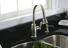 brushed nickel kitchen faucet kitchen designs