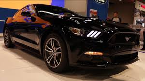 2014 Mustang Gt Black 2015 Ford Mustang Gt Black O C Auto Show 2014 Youtube