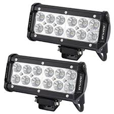 Led Lights Amazon Jackyled 2 Pack 36w Cree Flood Led Beam Light Bars 12v 7 Inches