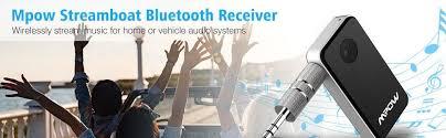 black friday mini stereo system amazon amazon com mpow bluetooth receiver streambot bluetooth adapter