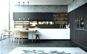 cuisine noir bois cuisine noir mat et bois cuisine cuisine e cuisine images cuisine