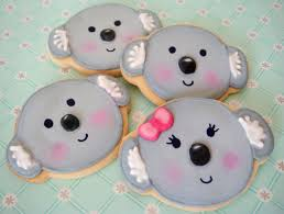 adventures of the little koala koala cookies by butter hearts sugar cookies pinterest
