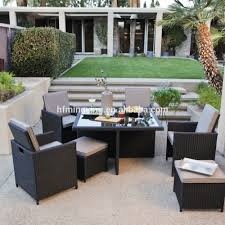Patio Furniture Chairs 2017 Synthetic Aluminum Rattan Dining Table And Chair Used