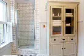 Small Floor Cabinet With Doors Wonderful Small Wooden Bathroom Floor Cabinets Using White