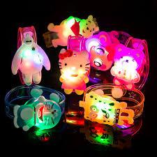 led light up toys wholesale cartoon light up toys colorful luminous hand ring cartoon flashing