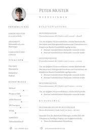 Lebenslauf Vorlage Excel 10 Best Lebenslauf Muster Und Vorlagen Images On Black