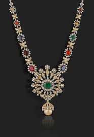 diamond jewelry necklace images Bridal diamond necklace diamond necklace designs chintamanis jpg