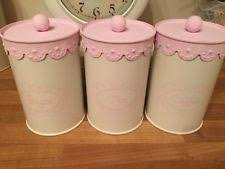 pink kitchen canisters pink kitchen ebay