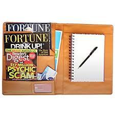 Should I Put My Resume In A Folder Amazon Com Royce Leather Portfolio Padfolio With Inserted Note