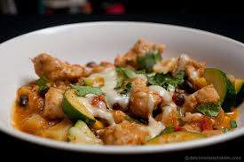 cuisine tex mex healthy tex mex chicken and veggies dish delynn s delectables