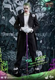 sin city halloween costume toys reveals tuxedo variant for squad u0027s the joker
