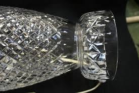 Waterford Table Lamps Broken Crystal Repair Bruening Glass Works