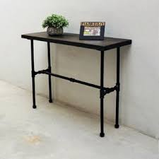 Industrial Console Table Industrial Console Sofa Tables You Ll Wayfair