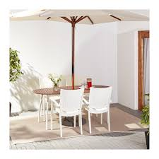 Chair Table Vindalsö Innamo Table 4 Chairs W Armrests Outdoor Ikea