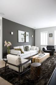 paint colors for living room walls with dark furniture color passion 30 bold painted accent walls digsdigs