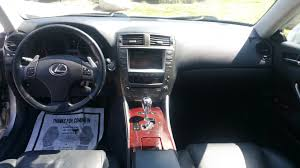 lexus is 250 center console 2007 lexus is250 purfect car auto broker