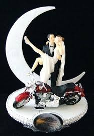 harley cake topper harley davidson wedding favors wedding cake topper w motorcycle