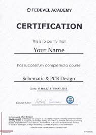 online design of certificate online schematic pcb design course fedevel academy