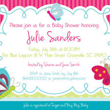 butterfly baby shower invitations butterflies gender