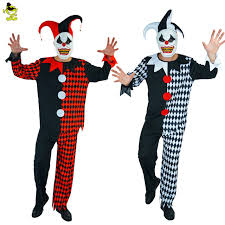 Ladies Clown Halloween Costumes Aliexpress Buy Deluxe Mask Killer Clown Adults Costumes