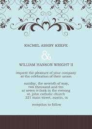 wedding announcement template wedding invitation templates