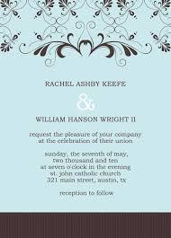 wedding announcement template wedding invitation templates