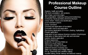 professional makeup courses basic makeup course outline mugeek vidalondon