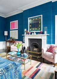 Teal Blue Living Room by Lifestyle Holly Go Brightly Google Images Farrow Ball And