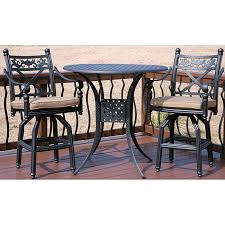 Bar Height Patio Chairs by 3 Piece Bar Height Patio Set Wr30 Cnxconsortium Org Outdoor