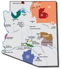 Flagstaff Zip Code Map by Arizona Indian Reservation Map My Blog
