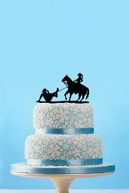 cowboy cake toppers unique cowboy cake topper rustic groom and wedding