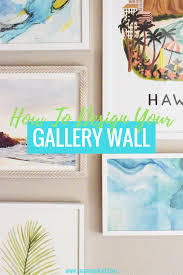 How To Design A Gallery Wall by How To Hang A Tropical Gallery Wall Communikait