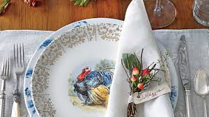 Thanksgiving Table Settings by Tried U0026 True Thanksgiving Table Setting Southern Living