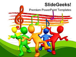 music powerpoint templates slides and graphics