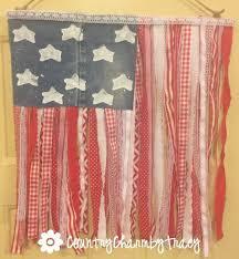 how to make a ribbon flag patriotic home decor