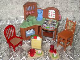 loving family kitchen furniture fisher price loving family collection on ebay