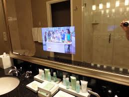 Tv In Mirror Bathroom by Gracie U0027s Blog My Bushkill Falls Experience