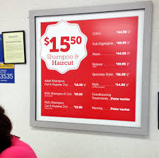 haircut express prices review smartstyle salon haircuts